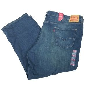 Levi's 559 Relaxed Straight Jeans Stretch Blue 54